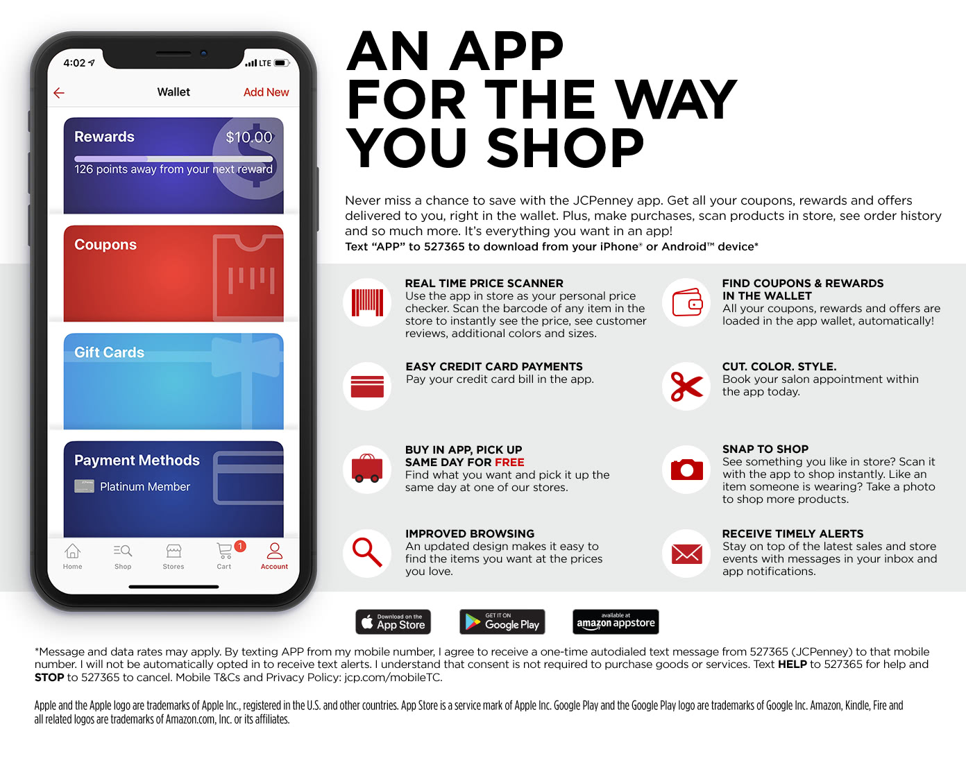 Free JCPenney Apps for iPhone & Android, Download our JCP App