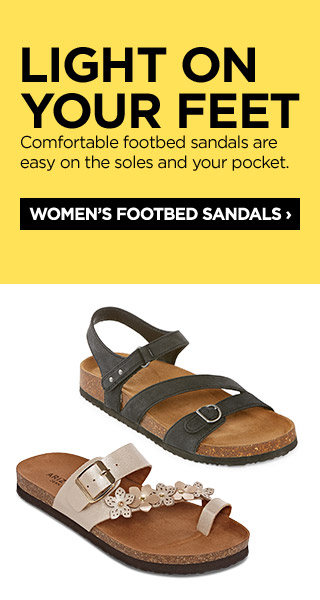 bbb3e44c1 Footbed Sandals 031019. Only at JCP