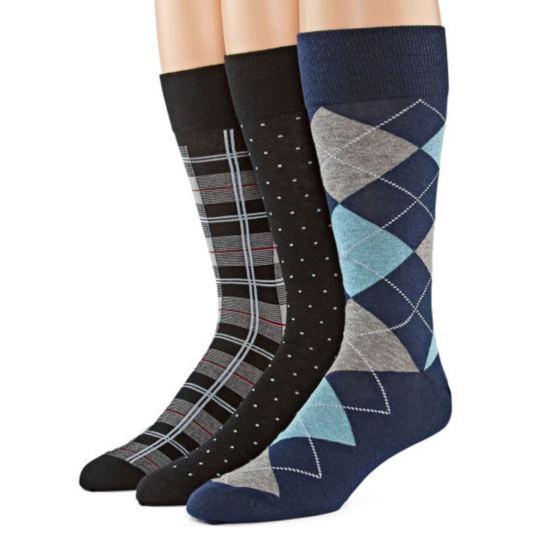 cee70a3055802 Mens Socks: Crew, No-Show, Dress & Cotton - JCPenney