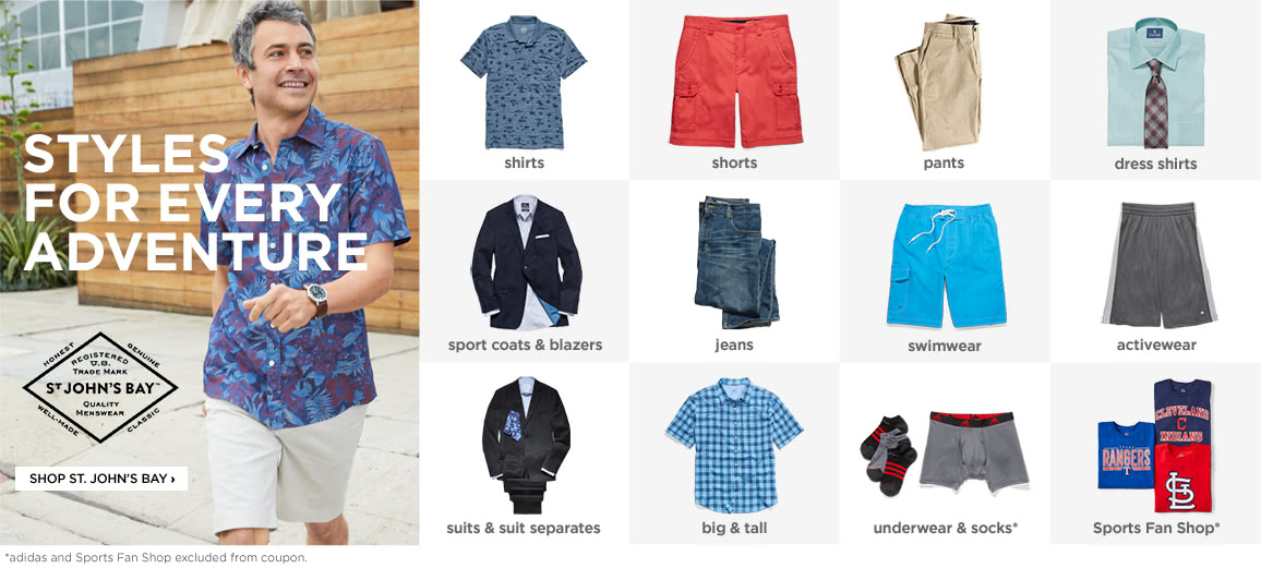 058b7354a Men's Clothing Store | Spring Fashion for Men | JCPenney